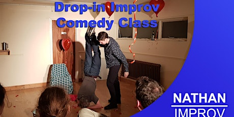 Chris's Improv Comedy Taster Class Beginners welcome (Basingstoke Hampshire tickets