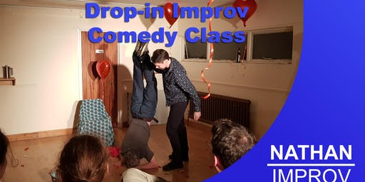 Chris's Improv Comedy Taster Class Beginners welcome (Basingstoke Hampshire