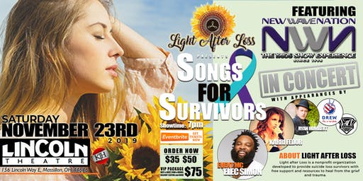 Songs for Survivors Benefit Concert