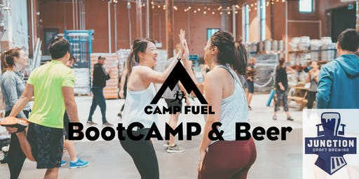 BootCAMP & Beer | Junction Craft Brewing | Camp Fuel