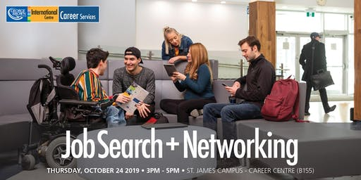 Job Search + Networking Workshop for GBC International Student