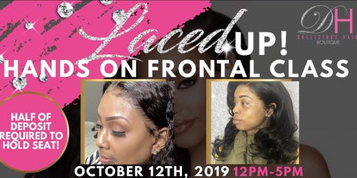 LACED UP HANDS ON FRONTAL CLASS - by Dollicious Hair