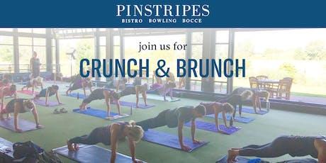 Yoga & Brunch at Pinstripes Edina tickets