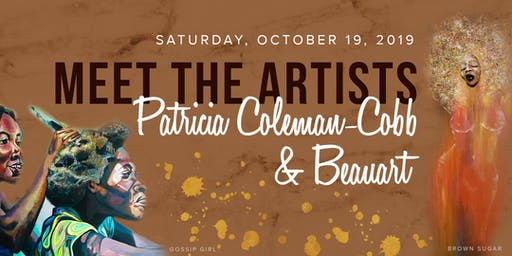 MEET THE ARTIST SERIES: Patricia Coleman-Cobb & Andy Beauchamp