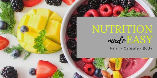 Nutrition made EASY NOVEMBER! Come learn how You can do it!