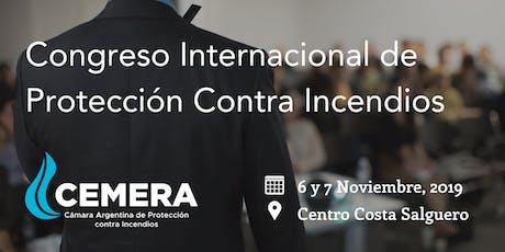 Congreso Internacional de Protección Contra Incendios entradas