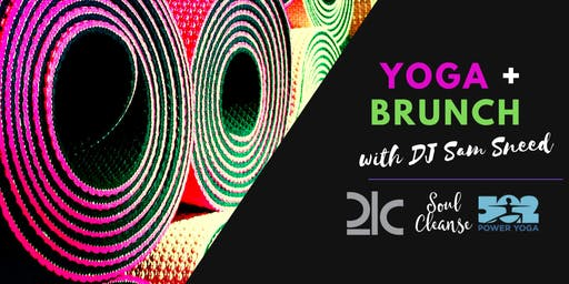 Yoga & Brunch at 21c Museum Hotel with 502 Power Yoga teachers Maddie Calzi and Carrie Keller