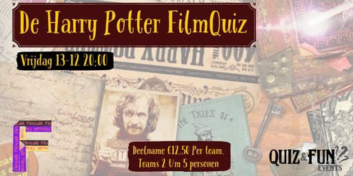 De Harry Potter FilmQuiz | Utrecht 13-12