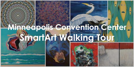 Art Walking Tour of the Minneapolis Convention Center with Art Force