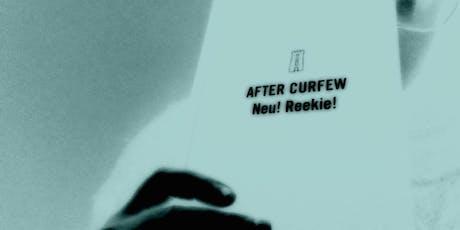 Neu! Reekie!'s After Curfew - Book Launch with Thrills tickets