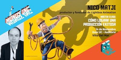 """Masterclass Viña del Mar: """"Cómo lograr una producción exitosa"""""""