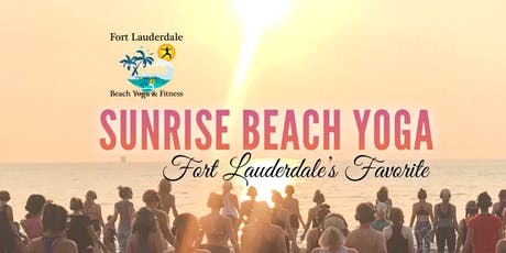 Sunrise Beach Yoga on Fort Lauderdale Beach | $10 tickets