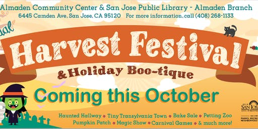 12th Annual Harvest Festival & Holiday Boo-tique