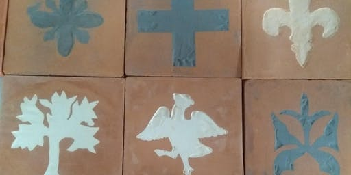 Free medieval tile workshop at The Beonna