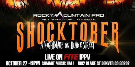 Rocky Mountain Pro Wrestling: Shocktober tickets