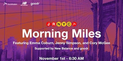 Morning Miles with Emma Coburn, Jenny Simpson & Cory McGee