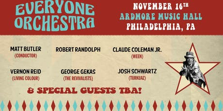 Everyone Orchestra ft. special guest Robert Randolph tickets