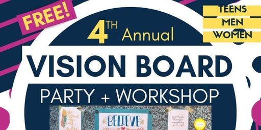 EMP 4th Annual Vision Board Party+Workshop