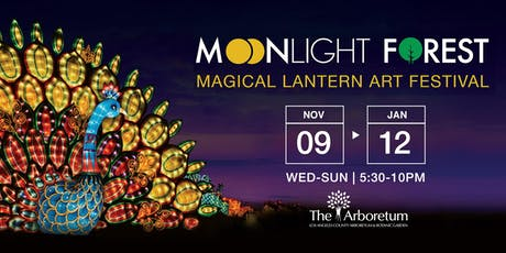 Moonlight Forest - Lantern Art Festival at the Los Angeles Arboretum | 2019 tickets