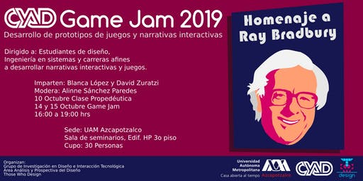 CYAD GAME JAM 2019
