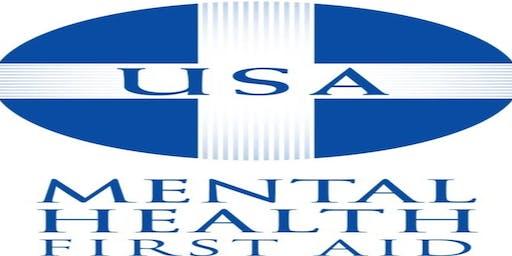 Mental Health First Aid: March 2020