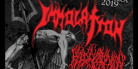Immolation at the Good Will Social Club tickets