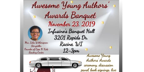 Awesome Young Authors' Awards Banquet tickets