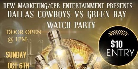 DALLAS VS GREENBAY WATCH/ KARAOKE DAY PARTY tickets