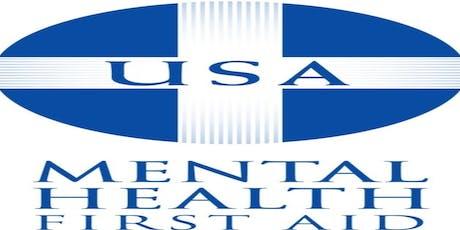Mental Health First Aid: June 2020 tickets