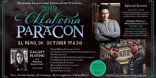 Paracon-Oklahoma 2019 Gallery Reading with Dakota Lawrence