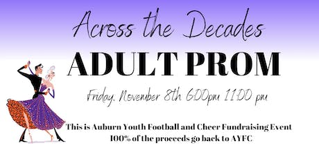 Across the Decades Adult Prom tickets