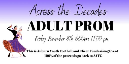 Across the Decades Adult Prom