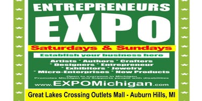 ENTREPRENEURS EXPO at Great Lakes Crossing Mall, AMC Theatre, Dec 14,15, 2019