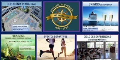 140º Aniversario Escuela Marina Mercante Mazatlán