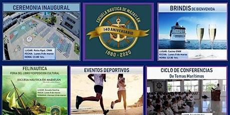 140º Aniversario Escuela Marina Mercante Mazatlán tickets