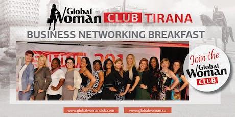 GLOBAL WOMAN CLUB TIRANA: BUSINESS NETWORKING BREAKFAST - NOVEMBER tickets