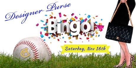 Canon Mac HS Baseball Boosters DESIGNER PURSE BINGO tickets