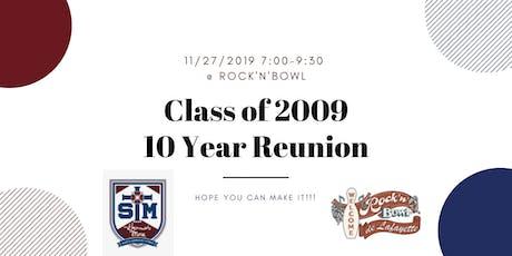 2009 STM 10 Year Class Reunion  tickets