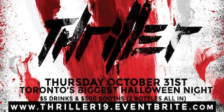 HALLOWEEN THRILLER @ FICTION // THURS OCT 31ST | BIGGEST HALLOWEEN NIGHT IN THE CITY! 18+ tickets