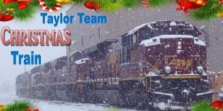 Taylor Team Christmas Train tickets