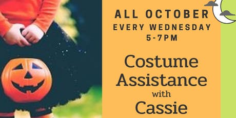 Costume Assistance with Cassie Spriggs tickets