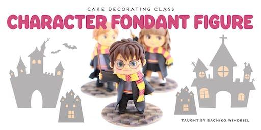 Sugar Art Workshop- Figure Modeling in Fondant: Harry Potter Character