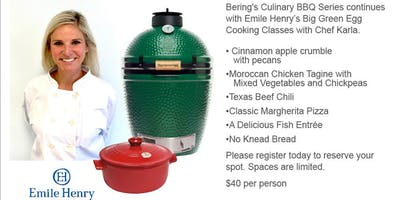 Emile Henry's Big Green Egg Cooking Clinic with Chef Karla