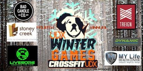 CrossFit UDX Winter Games 2019 tickets