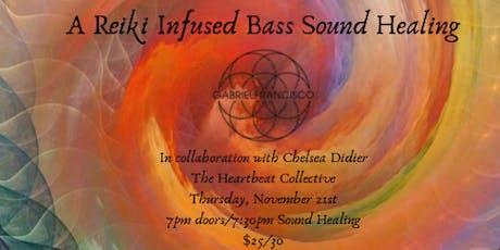 Resonate Oakland: A Reiki Infused Bass Sound Bath Meditation tickets