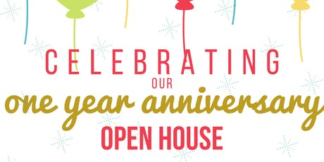 One Year Anniversary Open House tickets