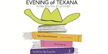 Evening of Texana  tickets