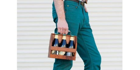 Woodworking Workshop: Wooden Six Pack Caddy (2019-11-04 starts at 6:00 PM) tickets
