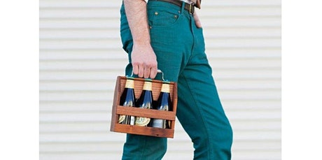 Woodworking Workshop: Wooden Six Pack Caddy (07-13-2020 starts at 6:00 PM) tickets