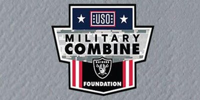 Military Combine presented by USO Las Vegas and Raiders Foundation